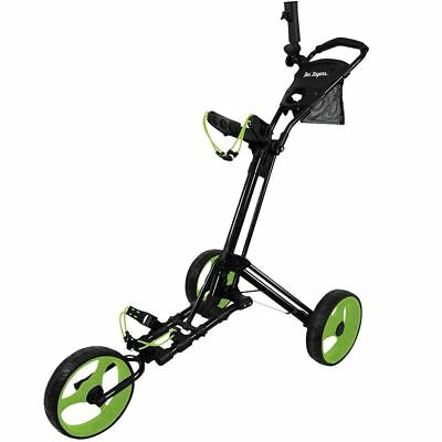 Ben Sayers 2018 Deluxe Dreirad Easy-Fold Golftrolley