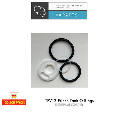 SMOK TFV12 PRINCE  Seal O Ring Black Set Orings Seals Gaskets Tank Replacement