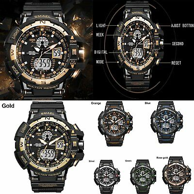 2019 Digital-Watch Sports Style 14-22cm Waterproof Sport Multif Led+ Qurtz FS