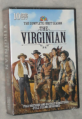 The Virginian - Complete Season Series One 1 - DVD Box Set - BRAND NEW & SEALED