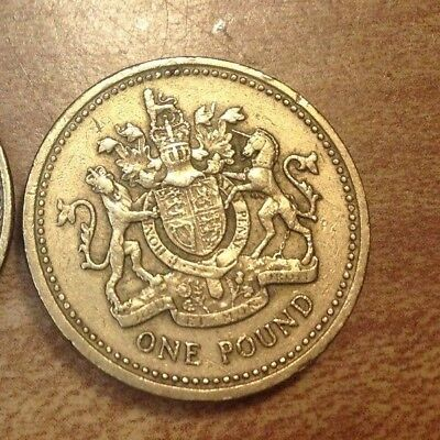 GREAT BRITAIN 1 Pound Coin Circulated, 1 coin