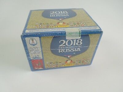 Panini WM World Cup Russia 2018 Sticker 1x Display 100 Booster Tüten NEU OVP DE