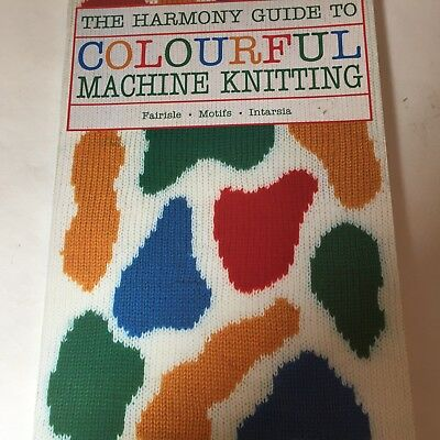 Harmony Guide to Colourful Machine Knitting Punchcard Intarisa FairIse Patterns