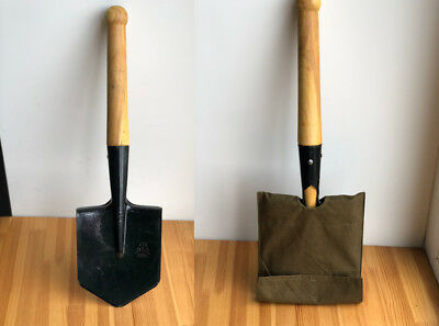 Russian army  original sapper spade small  steel shovel with a cover