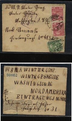 Austria  interesting  cover to US   1911      MS3021