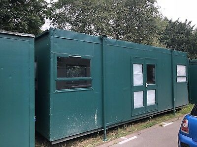 24ft x 9.5ft cabin- site acomadation, portable building, class room, Office