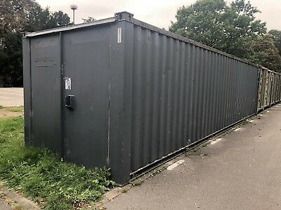 32ft x 9ft SHIPPING CONTAINER, STORAGE CONTAINER, STEEL CONTAINER,