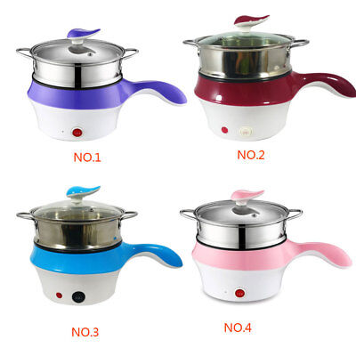 1.5L Portable Lunch Box Food Electric Steamer Pot Heating Rice Cooker