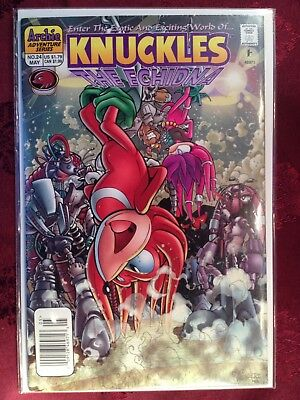 KNUCKLES The Echidna Comic Book #24  DARK ALLIANCE 3 of 3 Bagged & Boarded NM