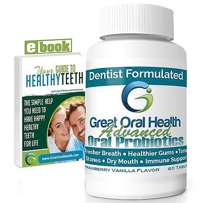 Advanced Patented Dental Oral Probiotics from a Top Holistic Dentist Great  s