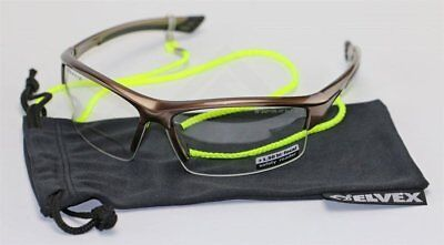 Elvex Sonoma RX350 Bifocal Safety/Reading Glasses Clear Lens 1.0 to 3.0 Magnific
