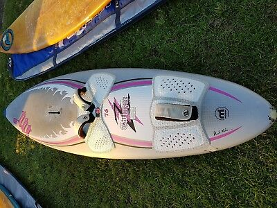 Wind Surfing WINDSURF BOARD Mistral Twinser 76L Wave Carbon Kewlar