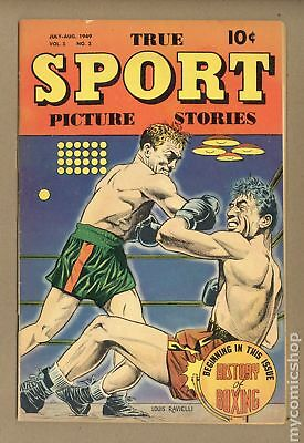 True Sport Picture Stories Vol. 5 #2 1949 VG+ 4.5