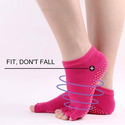Anti skid of pure cotton Style of men and women Open toe Yoga socks A0