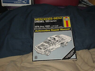 Mercedes-Benz Diesel 123 Series 1976-1985 4 & 5 Cyl Haynes Automotive Manual