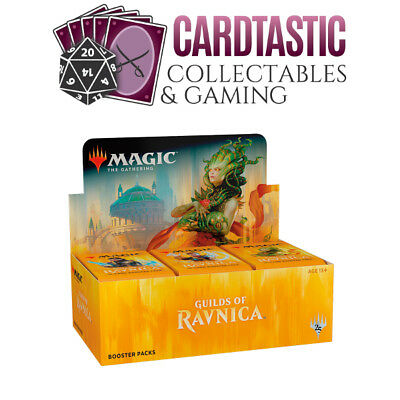Magic the Gathering TCG Guilds of Ravnica Booster Box Sealed PRESALE