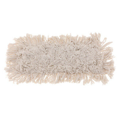 "Industrial Cotton Dust Mop Pad Refill Replacement Head Washable 16"" x 6"""