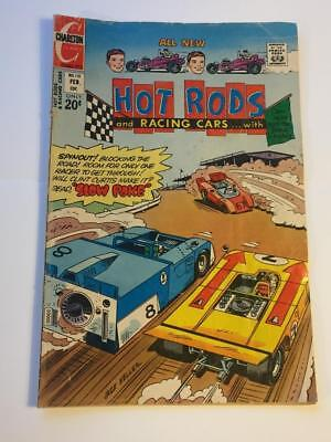 Hot Rods and Racing Cars #118 Charlton Comics 1970's VG