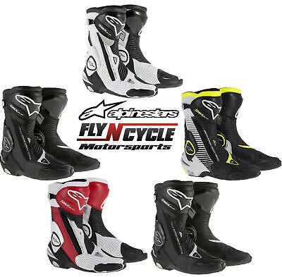 Alpinestars Mens SMX Plus Performance Riding Motorcycle Boots