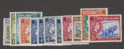 Pitcairn Is. - 1957-63 Definitive Set. Sc. #20-31. SG #18-28. Mint