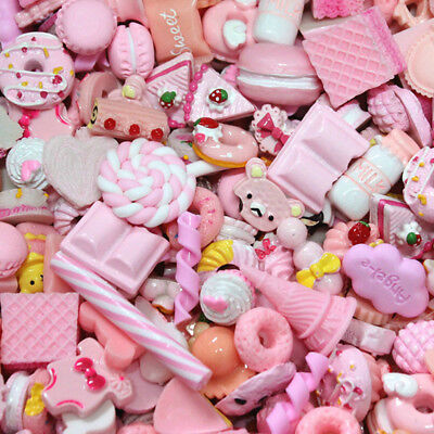 10x  Dolls Lovely Mini Play Toy Food Cake Biscuit Donuts Miniature Decor