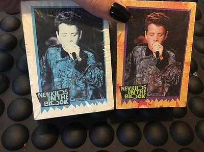 New Kids On The Block Big Step 1989 Trading Cards New Sealed Set Of Two Packs