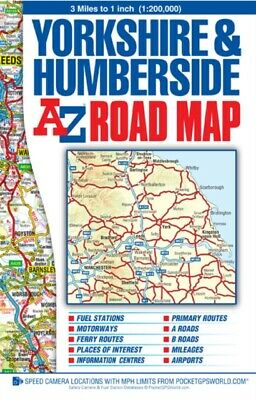 Yorkshire & Humberside Road Map (Street Atlas) (Map), Geographers...