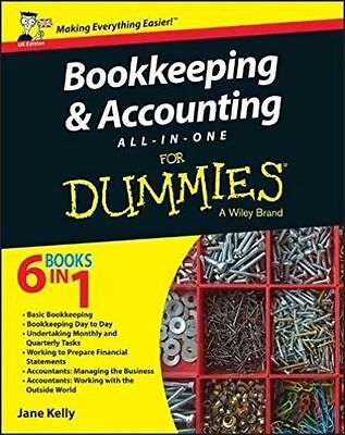 Bookkeeping and Accounting All-in-One For Dummies PDF Fast Delivery