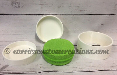 3D Printed Bath Bomb Mold - Tablet Shaped - great for shampoo bars & steamers