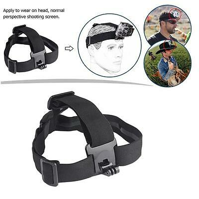 Elastic Adjustable Head Strap Mount Belt For GoPro GO PRO HD Hero 1/2/3/3+/4/5