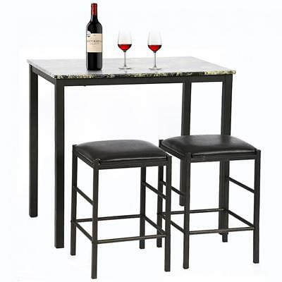 Dining Kitchen Table Dining Set Marble Rectangular Breakfast Wood Dining Room