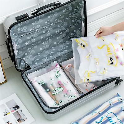 1/5x Waterproof Travel Clothes Storage Bags Luggage Organizer Pouch Packing Cube