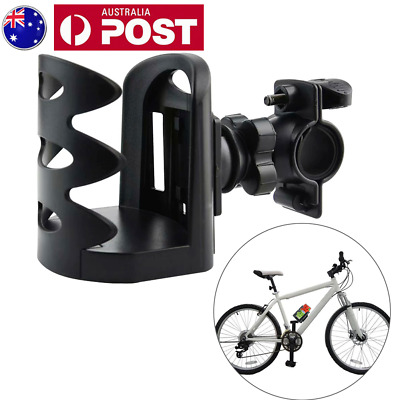 Motorcycle MTB Bike Handlebar Drink Cup Holder Water Bottle Cage for Bicycle AU