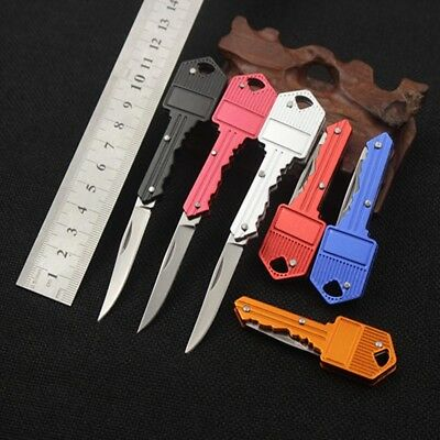 Outdoor Fishing Camping Survival Pocket Folding Blade Key Knife Small Knife Gift