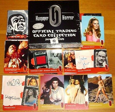Hammer Horror Strictly Ink Series 2 Sealed Box of Cards