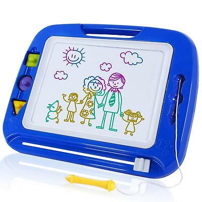 SGILE Large Magnetic Drawing Board Erasable Scribble Colorful Magna Sketch Pad