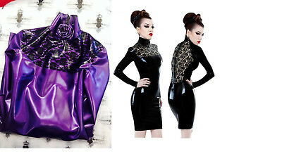 NP:430€ neu westward Bound new burlesque pin up Latex kleid dress gr.40/42
