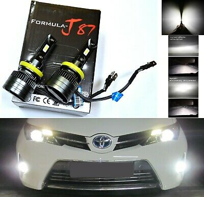 LED Kit N2 72W H11B 6000K White Two Bulbs Head Light Upgrade Low Beam Replace OE