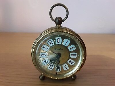 Vintage Blessing West German mechanical alarm clock