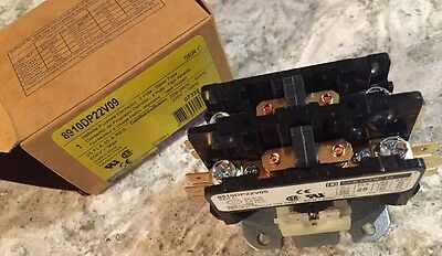 NEW SQUARE D Definite Purpose Contactor 8910DP22V09 Ser C 2 Pole 8910 DP
