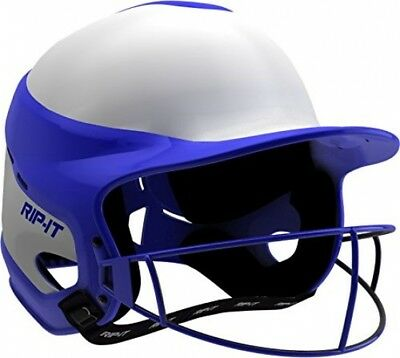 Rip-It Vision pro Softball Helm Fuß Blackout Technologie - Royal - M/L