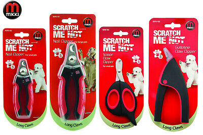 *New* Mikki Professional Nail & Claw Trimming Clippers Dog Cat Grooming 5 Styles
