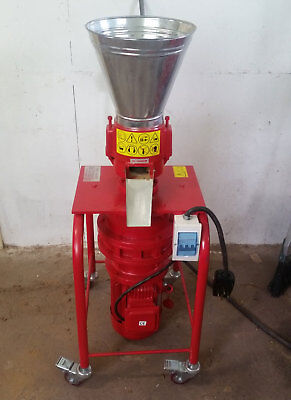 """6"""" 5hp 3ph Vertical Pellet Mill: Make feed/fuel pellets. In stock. Free Shipping"""