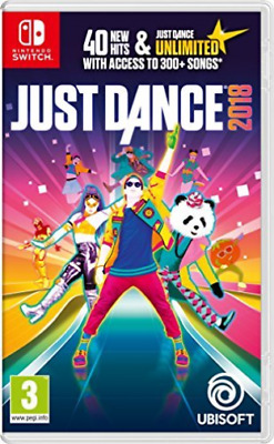 Just Dance 2018 (Nintendo Switch) (UK IMPORT) GAME NEW