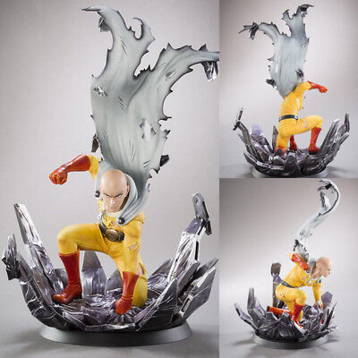Anime ONE PUNCH MAN Saitama PVC Figure Model Collection Toy Gift 24.5CM