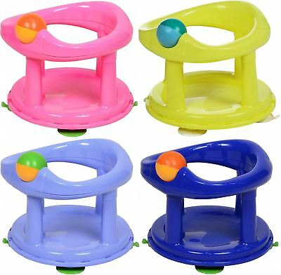 Safety 1st Swivel Bath Seat Baby Infant Tub Bathing Cleaning Support