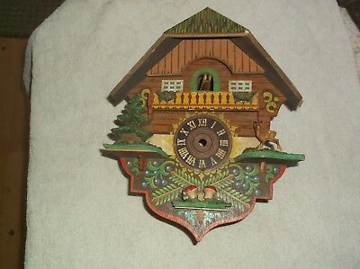 Cuckoo Clock Case (Wooden Case Only)For Restoration Ref Cuk 1