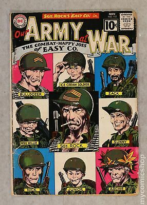 Our Army at War #112 1961 GD 2.0