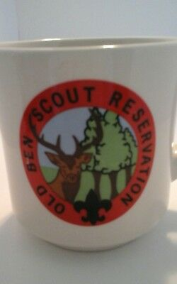 Vintage Boy Scouts Old Ben Reservation Buffalo Trace Indiana Coffee Cup Mug