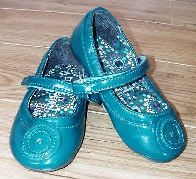 Bnwt Girls Next Teal Mary Jane Shoes Uk 8 New Party Pumps Blue Top T-Shirt Coat